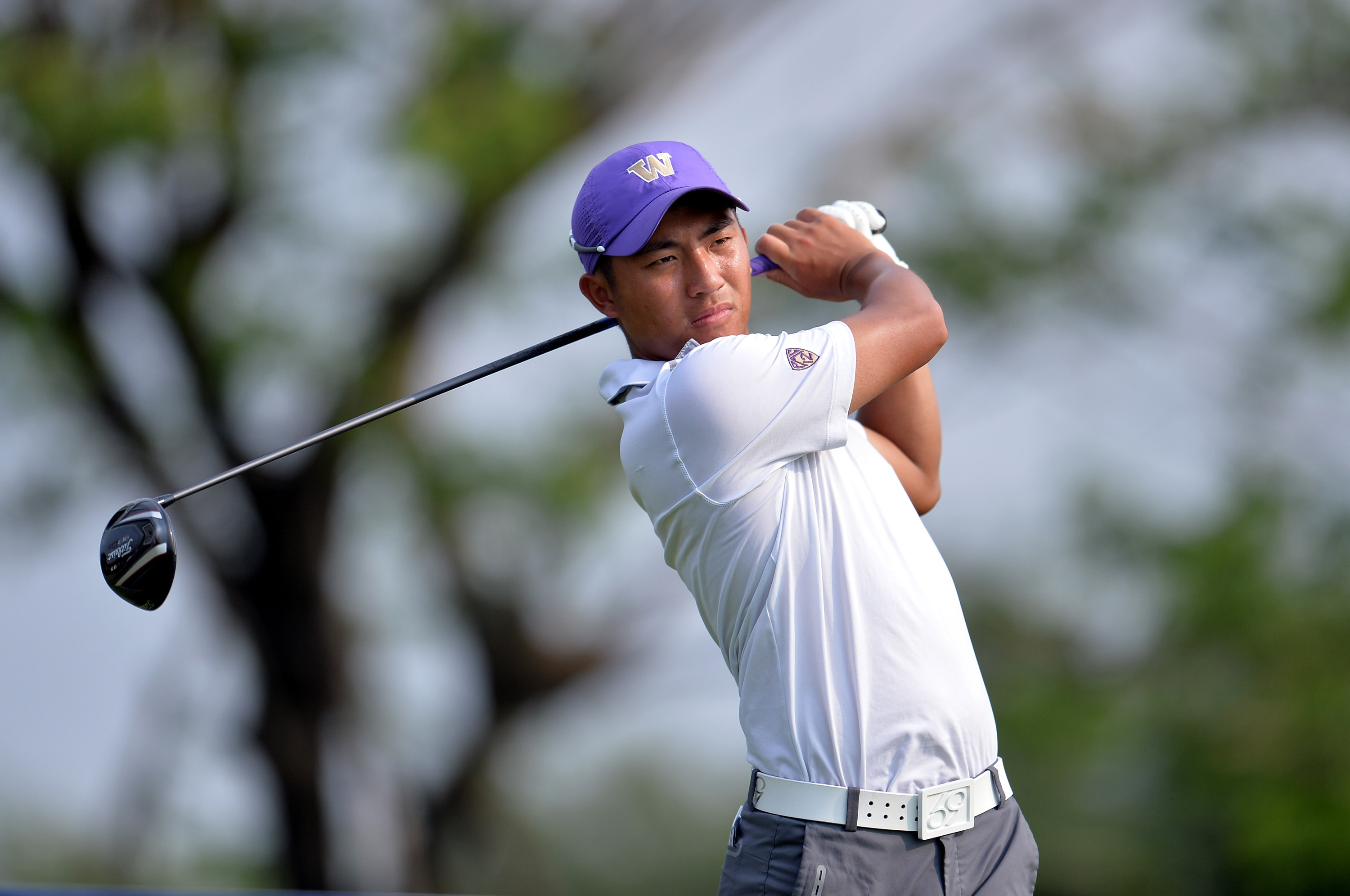 Cheng-Tsung Pan at the Open Qualifying Series on March 7, 2014 in Bangkok, Thailand. (Stanley Chou/R&A)
