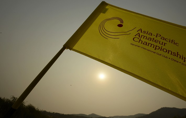 LONGKOU CITY, China – The Asia-Pacific Amateur Championship at the Nanshan International Golf Club, Garden Course - October 24-27, 2013. Picture by Paul Lakatos/AAC.